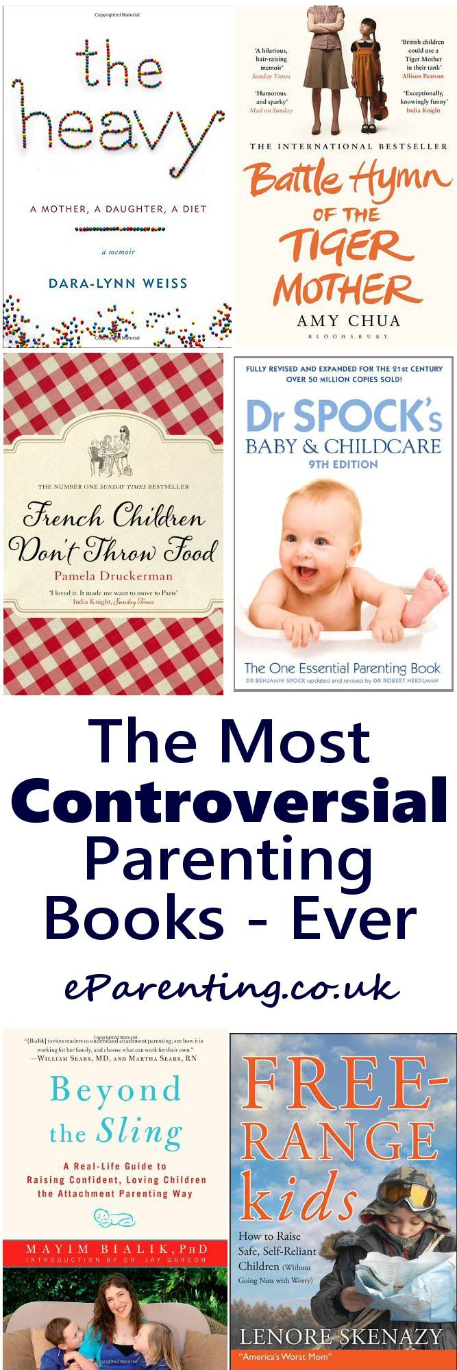 The Most Controversial Parenting Books Ever - Tiger Mother, Free-Range Parent or French Maman? #parenting #parentingbooks #controversialparentingbooks #tigermother