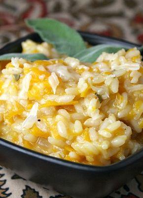 Butternut Squash Risotto #recipe   RecipeGirl.com
