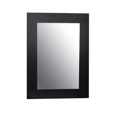 Elegant Home Fashions Chatham 25-7/8 in. x 19 in. Framed Wall Mirror in Dark Espresso-HD16605 at The Home Depot $43.73