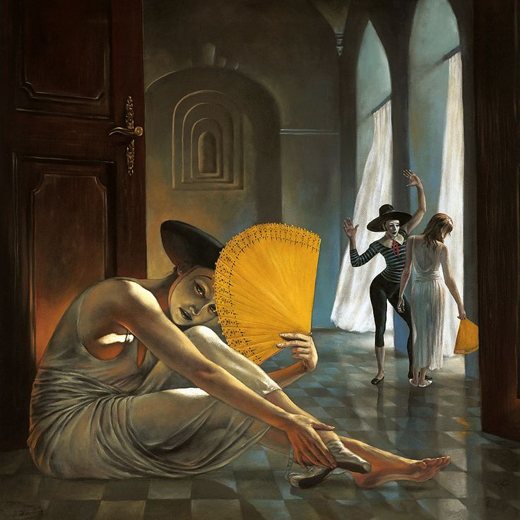 manning erotic Michael paintings
