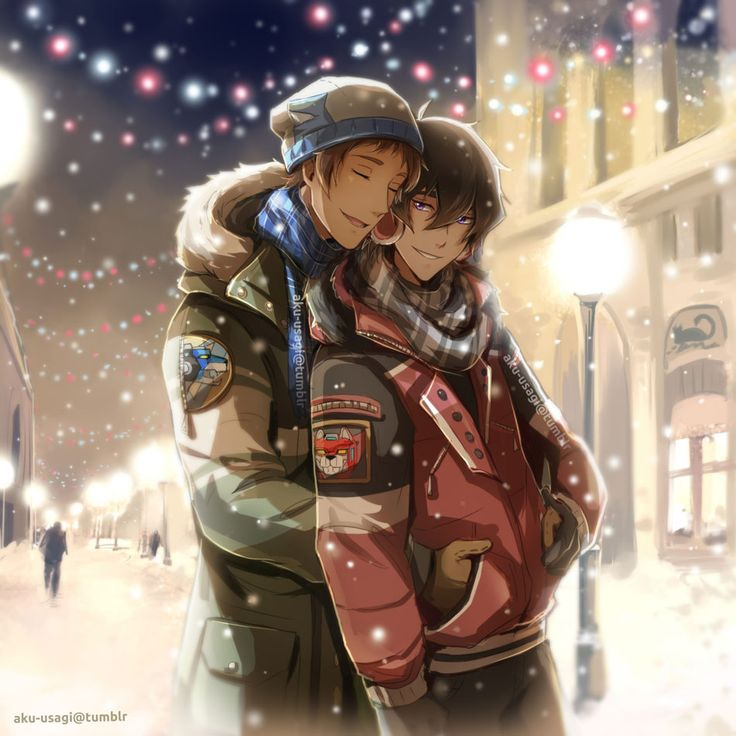 Merry Christmas! - Klance by Evil-usagi on DeviantArt | Klance