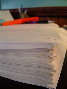 Now's the time in the novel writing journey where I start to get really nervous. I stare at my stack of index cards terrified that what I've written are nothing more than a collection of stupid ideas that will never come together into a coherent...