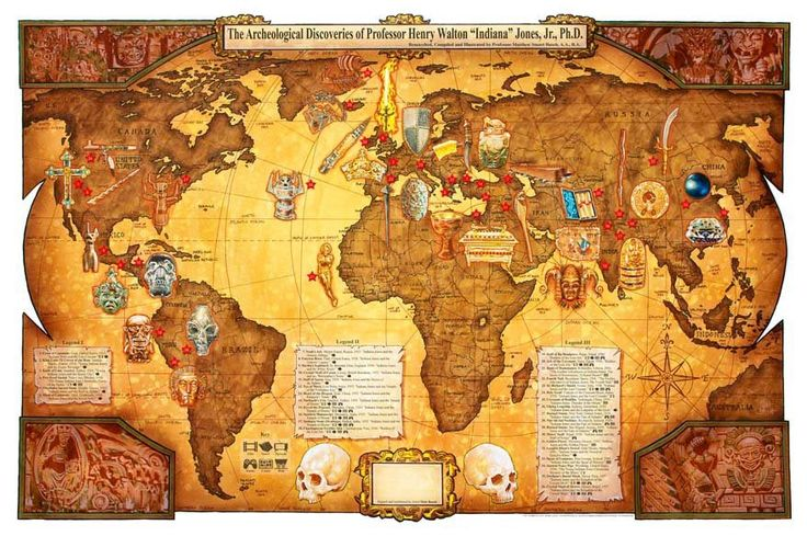 The archeological discoveries of Indiana Jones.: Thanksindiana Jones, Schools Indiana Jones, Nerdy Stuff, Awesome, Movies, Anniversair Indiana, Indiana Jones Maps, World Maps, Archeology Discovery