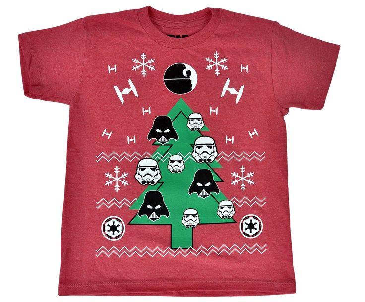 Star Wars Christmas Tree Toddler Boys T-Shirt