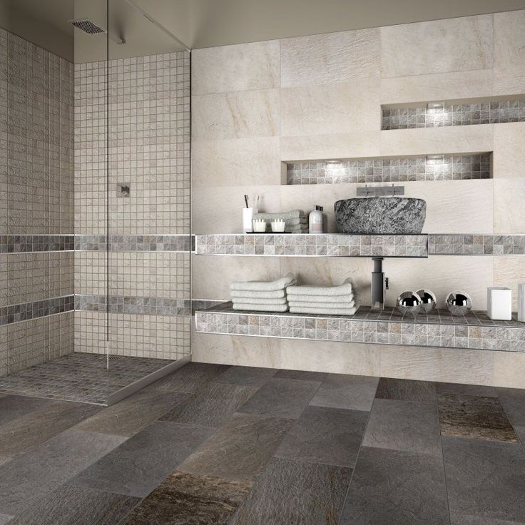 17 migliori idee su piastrelle per doccia su pinterest - Bagno mosaico rosso ...