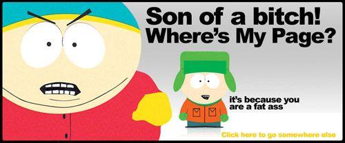 Ha! Southparky 404!