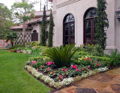 17 best images about mediterranean landscaping ideas on for Mediterranean front porch designs
