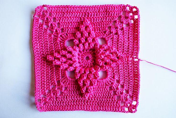 Crochet pattern from Kauneimmat käsityöt - Ruutu ja palavirkkaus 2012