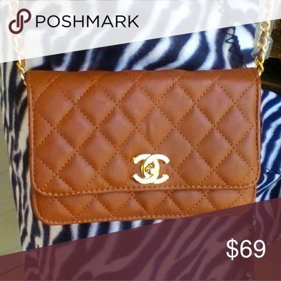 ***FLASH SALE***NWOT C.hanel Quilted Shoulder Bag NWOT Chanel Quilted Small Shoulder Bag. Beautifully designer inspired. Amazing quality. Shop my closet for more deals. Bundle and save. Happy Poshing! Bags Shoulder Bags