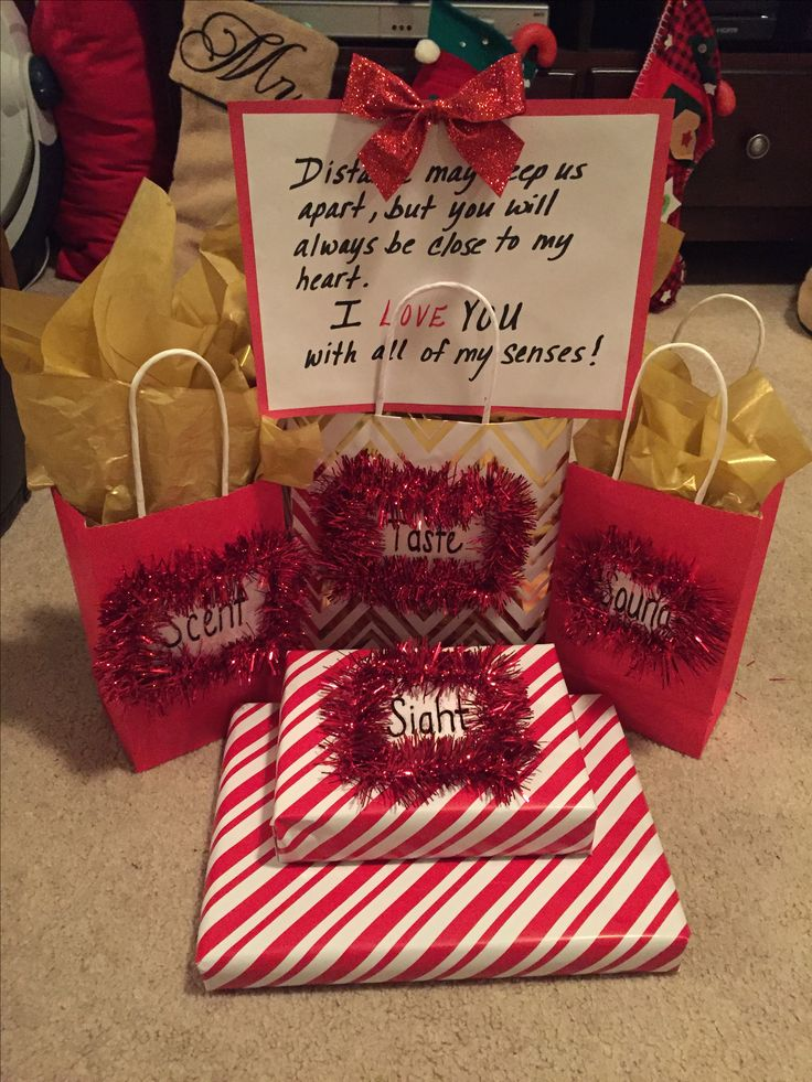 I Love You With All Of My Senses 5 Senses Gift For