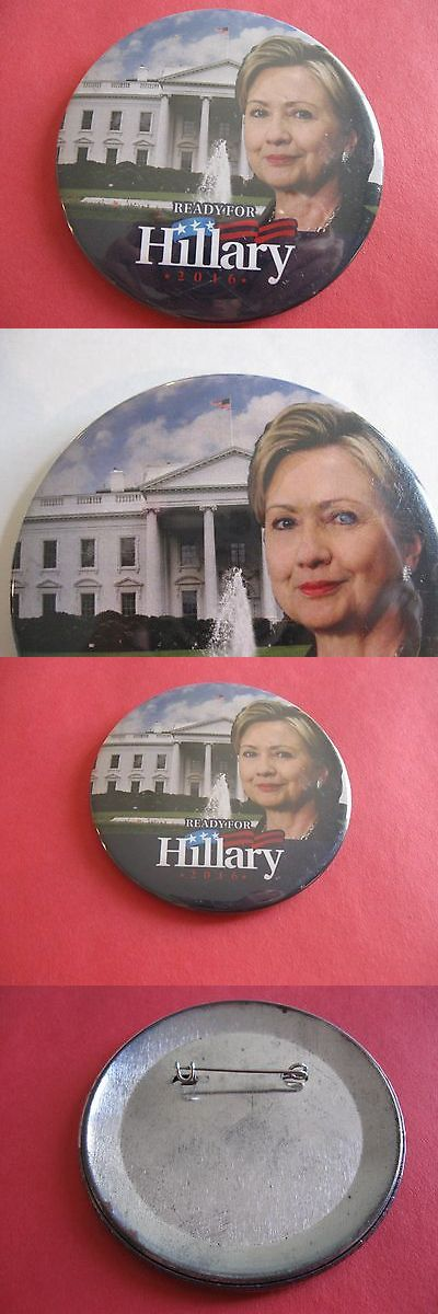 Hillary Clinton: Hillary Clinton For President 2016 Campaign Button -> BUY IT NOW ONLY: $3.95 on eBay!