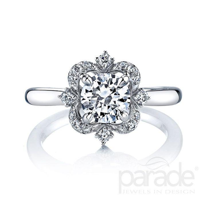 17 Best Princess Cut Engagement Rings Images On Pinterest