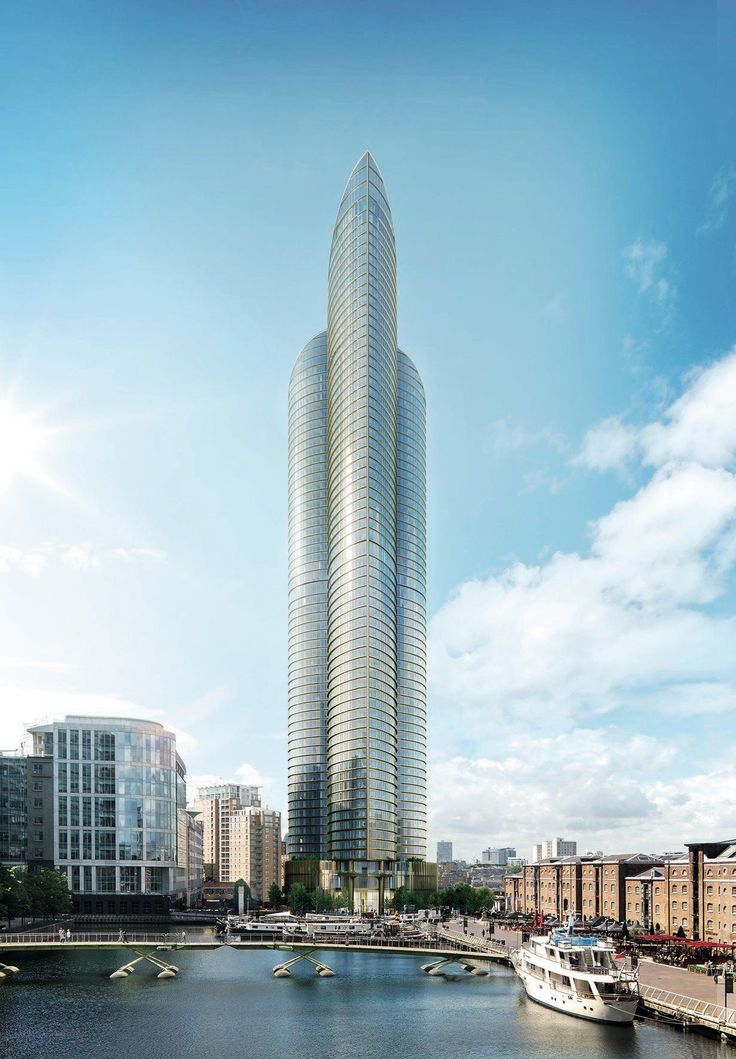 This skyscrapper is officially being called Spire London, but it's been pointed out it actually resembles a massive penis.