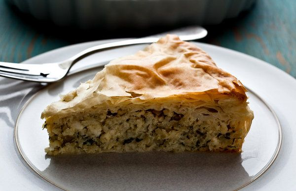 Greek-Style Kohlrabi Pie or Gratin With Dill and Feta