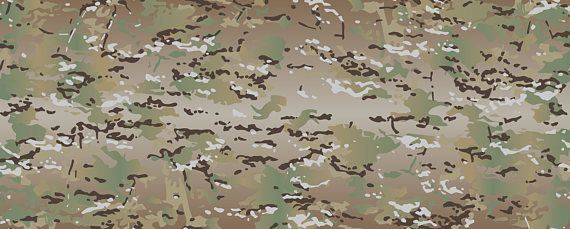 Original full-size Multicam (scorpion) camouflage pattern for print. Copy of legendary camo pattern in vector ready-to-print format. You can zoom it for any size without quality lose. Handly created in Photoshop and Illustrator and tested for vector errors. File format: .eps (can opened