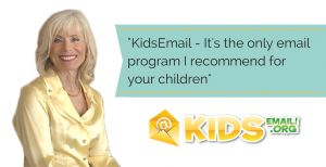 Dr Laura encourages parents to use Kidsemail.org!