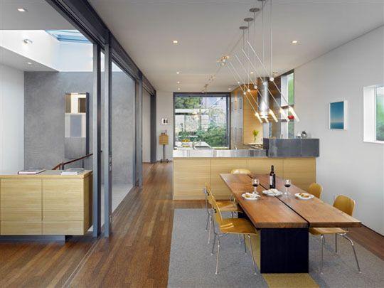 DINING KITCHEN Zack/deVito Architecture: Designers And Master Builders,  Part 2