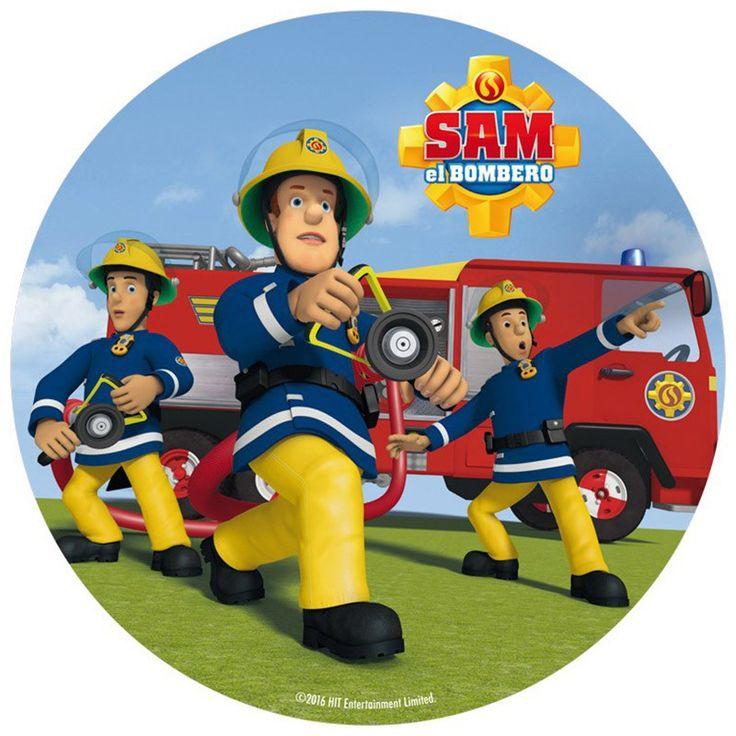Oblea Sam el bombero 1 - Dekora