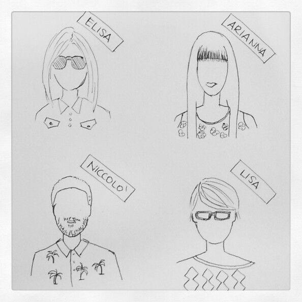 #illustration of #Lomography staff