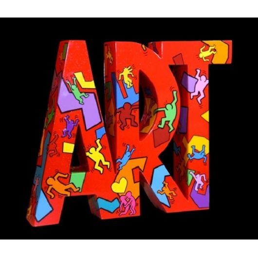 "F&G - ART ""Moving"" - Keith Haring"