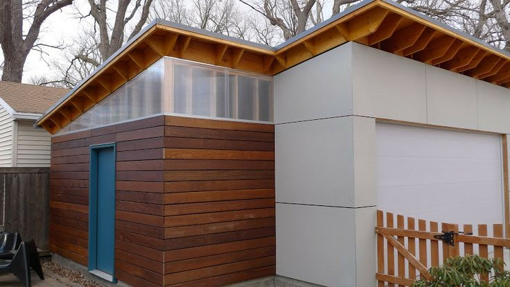 135 best front of the house ideas images on pinterest for Modern shed siding