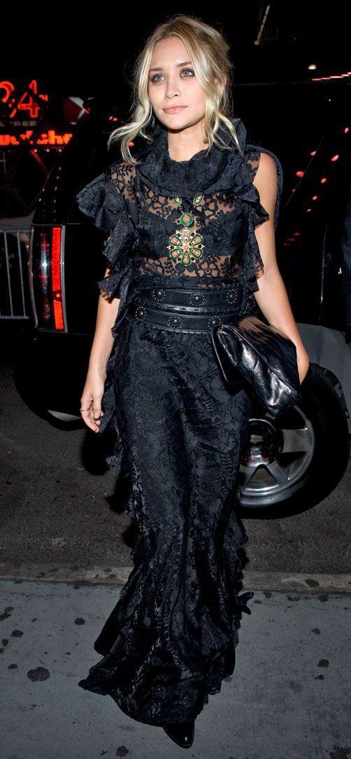 Esqueça as regras clichês da moda (parte II) - vestido longo - long dress - gêmeas Olsen - Mary-Kate Olsen