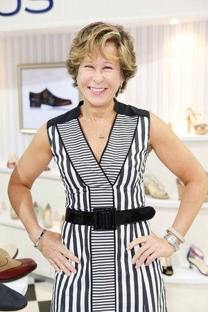 Yeardley Smith - voice of Lisa Simpson and founder of Marchez Vous.  Try a pair today at  www.footwearetc.com/Marchez-Vous/