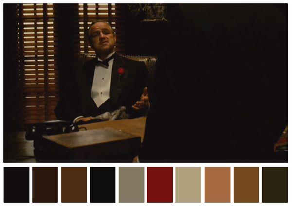 The Godfather (1972) dir. Francis Ford Coppola