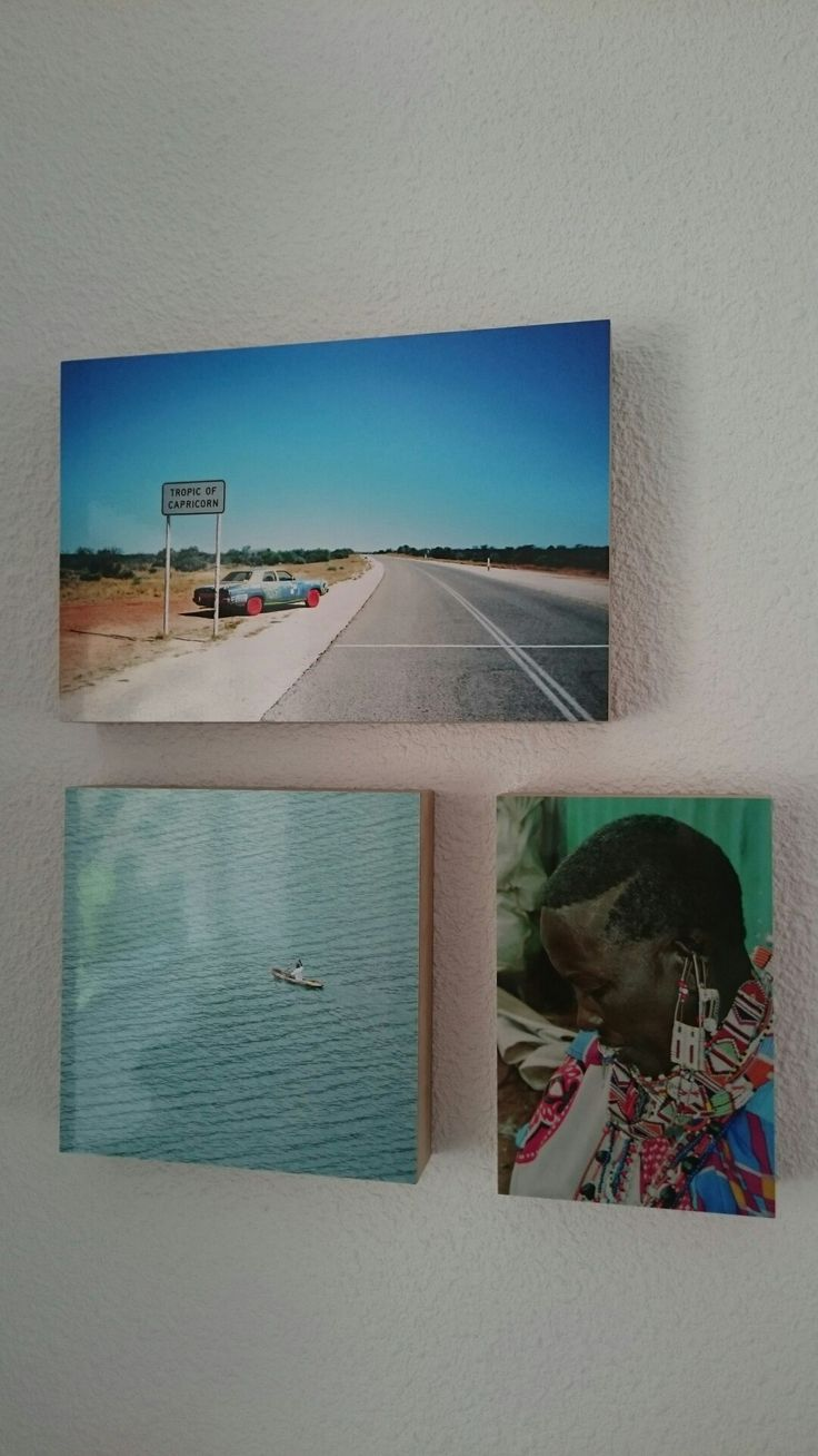 Photo on wood. made by Zolder op Stelten. Photo's from my trip in Australia, Kenya and Rwanda