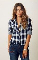 Casual Flannel Shirt Outfits for This Summer 15