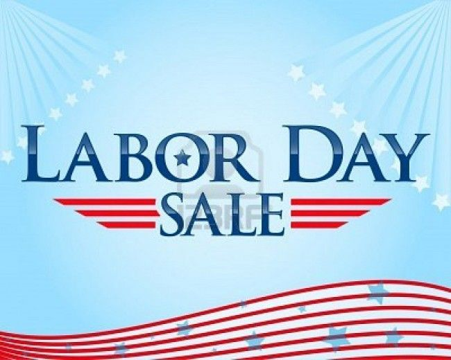 Shop til you drop from these great deals on Labor Day 2012!