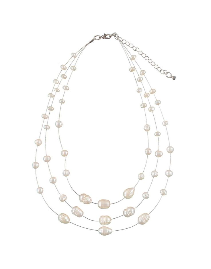 Suspended Pearl Necklace | Woolworths.co.za - R260