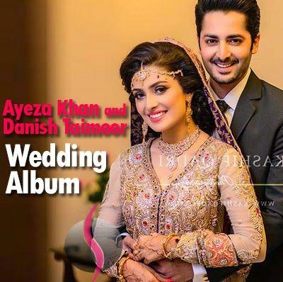 Ayeza Khan and Danish Taimoor Wedding Pictures Album - She9   Change the Life Style