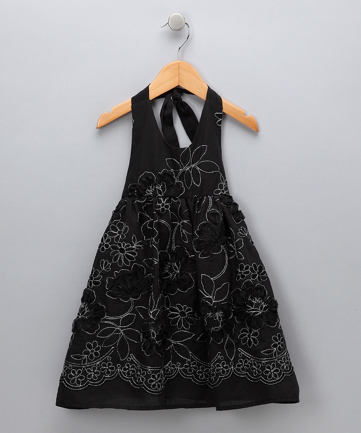 adorable girl's dress, I'd wear it if it came in adult sizes!