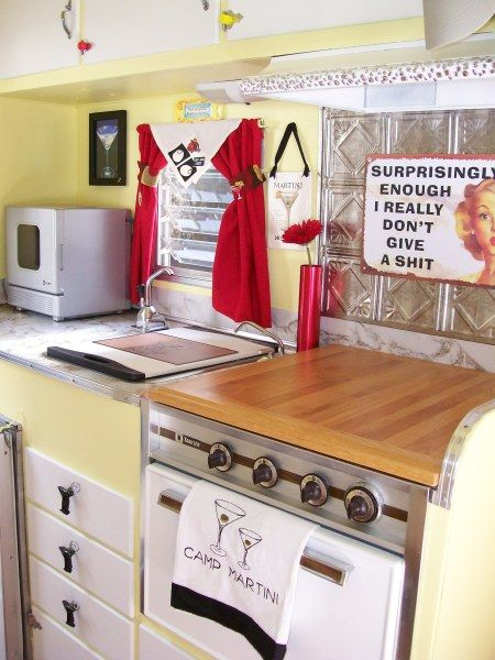 Love the stove cover!