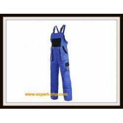 Spodnie ogrodniczki LUX niebieski