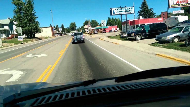 Drive through Lewistown, Montana