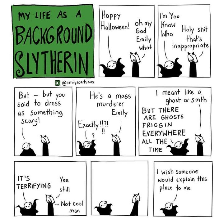 My life as a background Slytherin