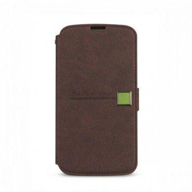 Forro Google Nexus 4 - Zenus - Color Point Diary - Black Chocolate