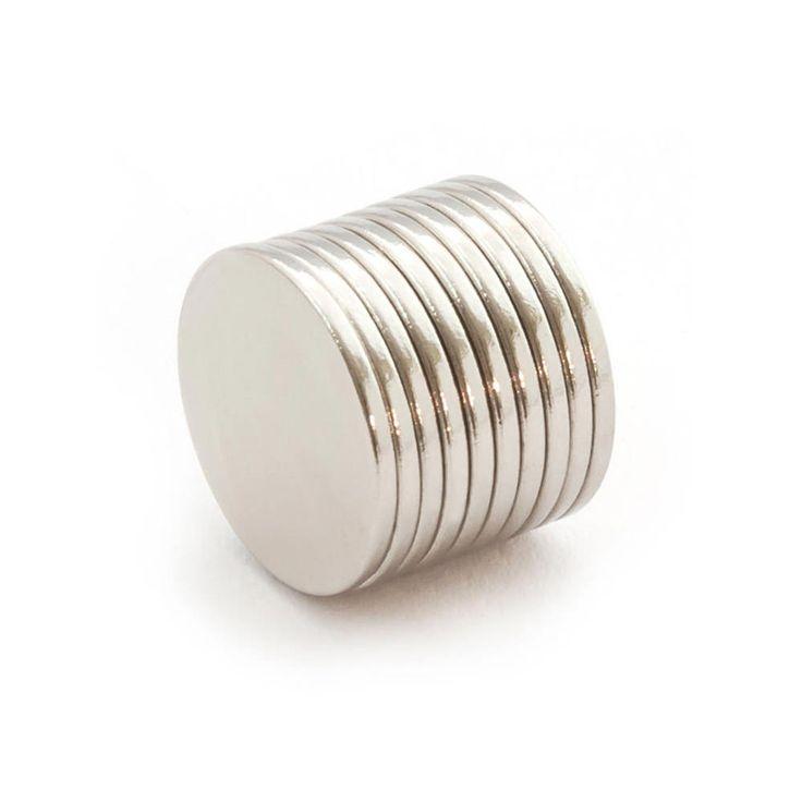Neodym Magnet N38 ø 20 x 1,5 mm in Magnete  • Scheibenmagnete