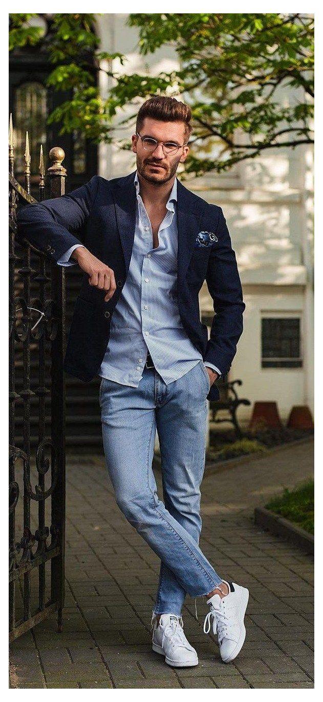 Casual men smart attire A Complete