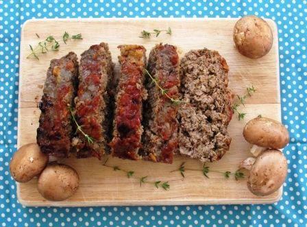 Garden Mushroom Meatloaf