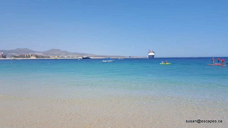 Breathless Los Cabos, perfect Medano Beach for swimming