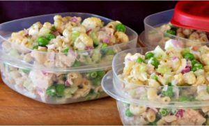 recette de salade de macaroni thon