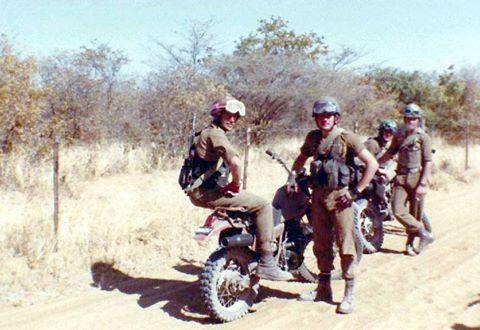 Bike squad near Okongo