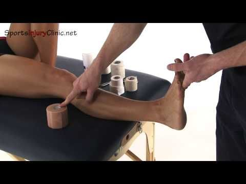 Ankle Taping - Figure of 8