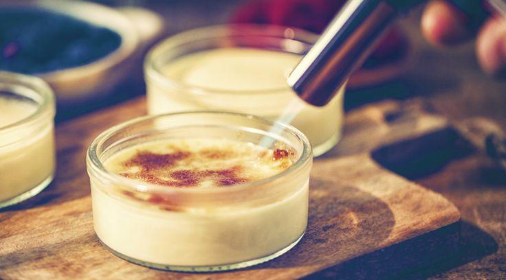 バニラアイスを使えば意外と簡単。自家製「クレーム・ブリュレ」のマル秘レシピ | TABI LABO