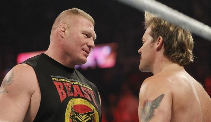 The Wrestling Observer Newsletter reported on Monday that there was an extremely heated backstage altercation between Chris Jericho and Brock Lesnar following SummerSlam's main event.Apparently Jericho didn't know if the bloody TKO finish was actually the planned finish of the Lesnar ...