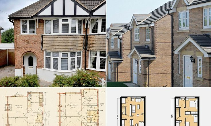 The Incredible Shrinking Houses The Average New British