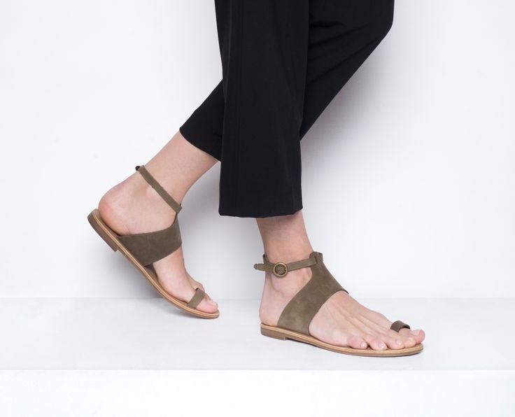''salvia'' style sandals #grecianstylesandals #mostchic